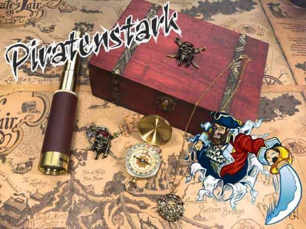 """Erlebnisbox """"PIRATENSTARK"""" mit Kreide-Kap Arkona Tour für 2 Pers."""